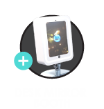 Desk Mirror Booth